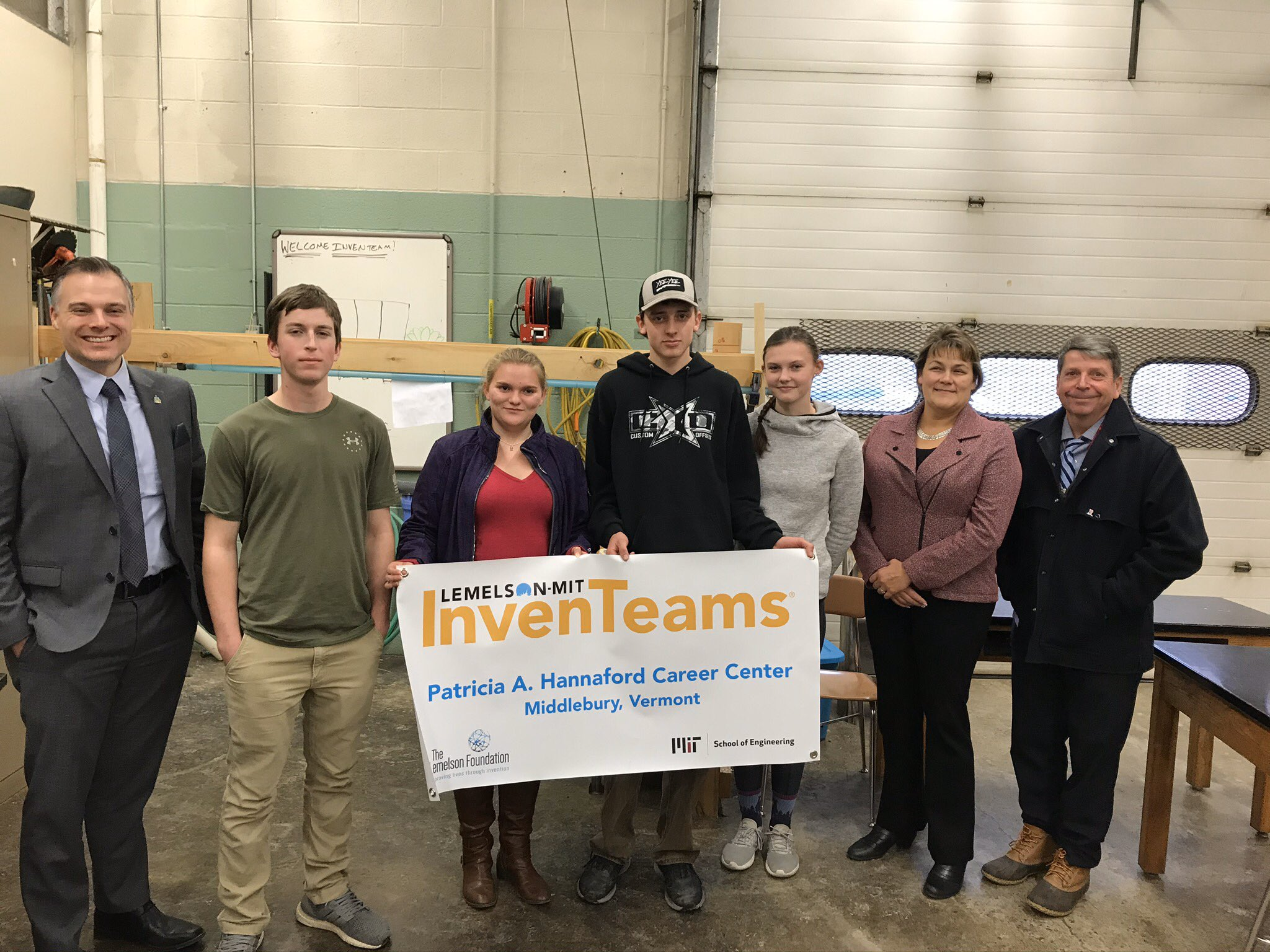 2020 Vermont InvenTeam meet with local officials
