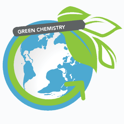 Icon of a globe for green chemistry