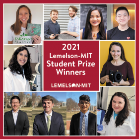 Collage of the 2021 Student Prize winners