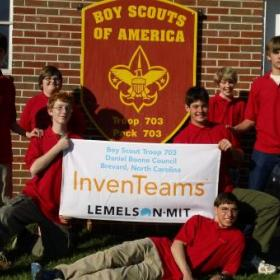 Boy Scout Troop 703 InvenTeam