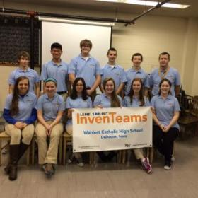 Wahlert Catholic High School InvenTeam
